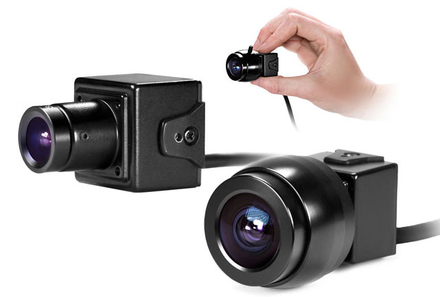 CV150 Micro POV Camera with Interchangeable Lenses