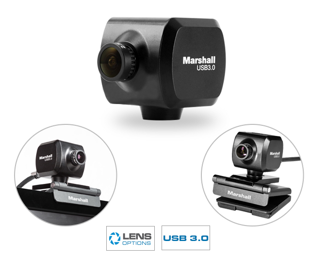 Full-HD USB Mini Conferencing Camera with 2.5MP Lens