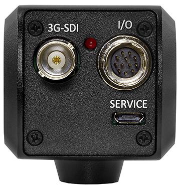 Miniature Full-HD Camera rear input image of 3G/HDSDI