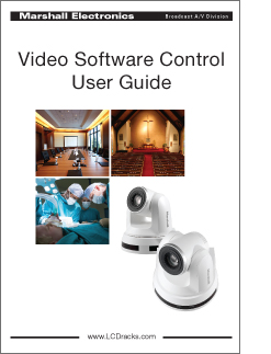 Video Software Control Maual in PDF format
