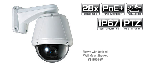 1.3MP 28x Zoom IP PTZ Camera