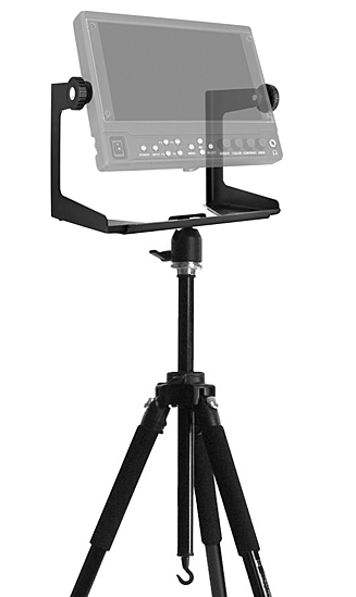 Yoke Monitor Support Mount on tripod