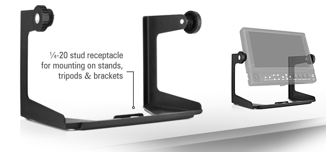 Universal Yoke Style Small Monitor Support Mount