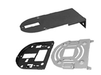 Ceiling Mount Plate and Wall Mount Plate for PTZ camera