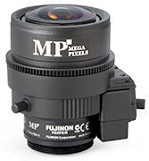 CS mount 3MP Varifocal Manual Focus Lens from FUJINON