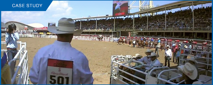 Marshall POV Cameras Used For Rodeo Broadcast