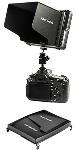 Video  Assist Monitor on top of Canon DSLR
