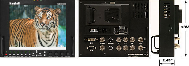Standalone 8.4 Outdoor High Definition Monitor