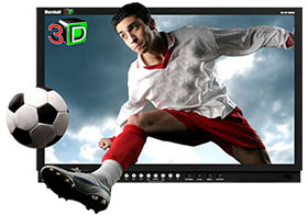 Full Resolution 24 inch Stereoscopic 3D LCD Monitor with HD-SDI