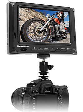 M-CT5 - 5 inch High Resolution Portable Camera-Top Field Monitor