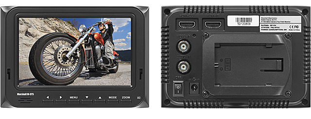 M-CT5 - 5-inch Portable Camera-Top Field Monitor
