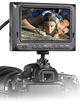 M-CT508-06 - 5 inch Portable Camera-Top Field Monitor
