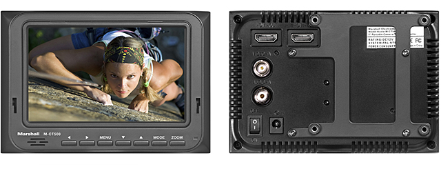 M-CT508-06 - 5-inch Portable Camera-Top Field Monitor