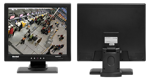 M-Pro CCTV 19 - Video Security Monitor with BNC Loop-Through