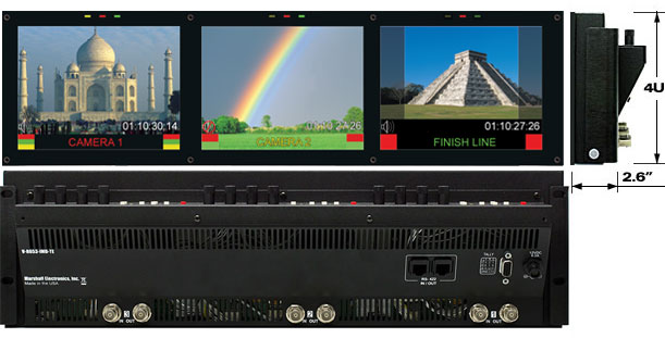 V-R653SB-IMD Super Transflective Outdoor LCD Rack Monitor