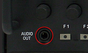 FRONT AND REAR PANEL AUDIO OUTPUT