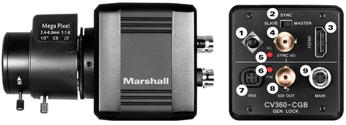 Marshall Electronics Optical Systems Division Cv360
