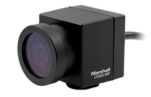 CV503-WP - Weatherproof HD Miniature Camera with interchangeable lenses, remote adjustability, and 3G/HDSDI output